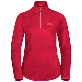 Jack Wolfskin Echo Pull En Polaire Femme, clear red